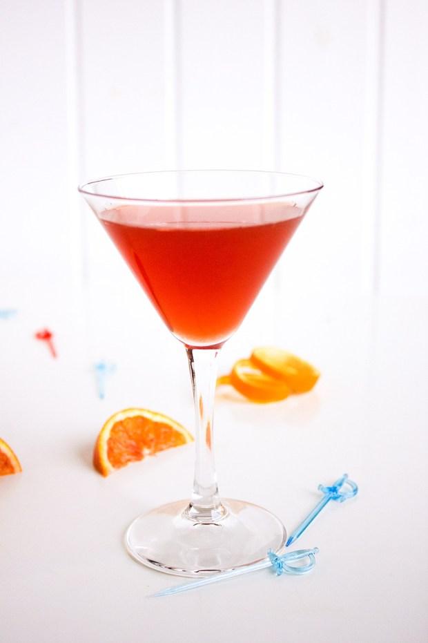 Campari blood orange jelly