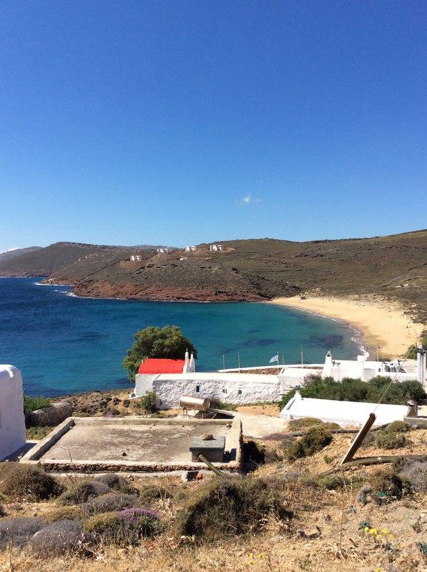 Agios Sostis, Mykonos beaches @eatyourselfgreek