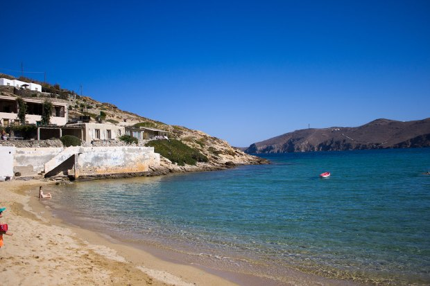 Mykonos beaches @eatyourselfgreek