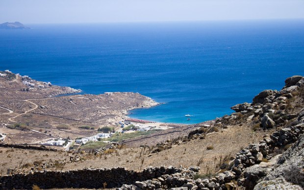 Mykonos beaches @eatyourselfgreek