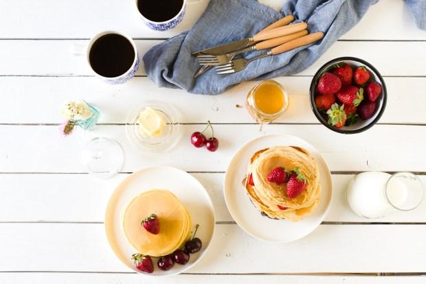Pancakes @eatyourselfgreek