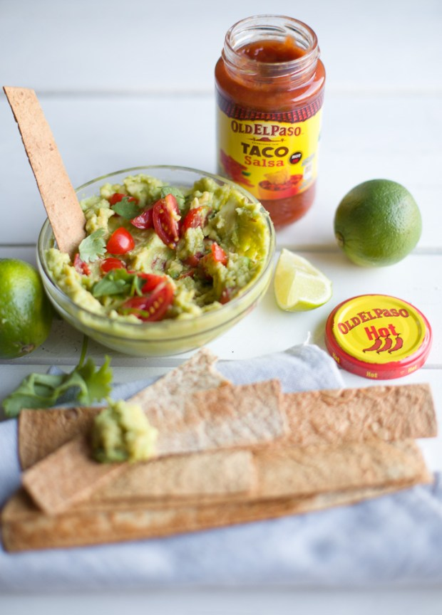 Avocado spread, Alexandros Papandreou recipe for Old El Paso @eatyourselfgreek