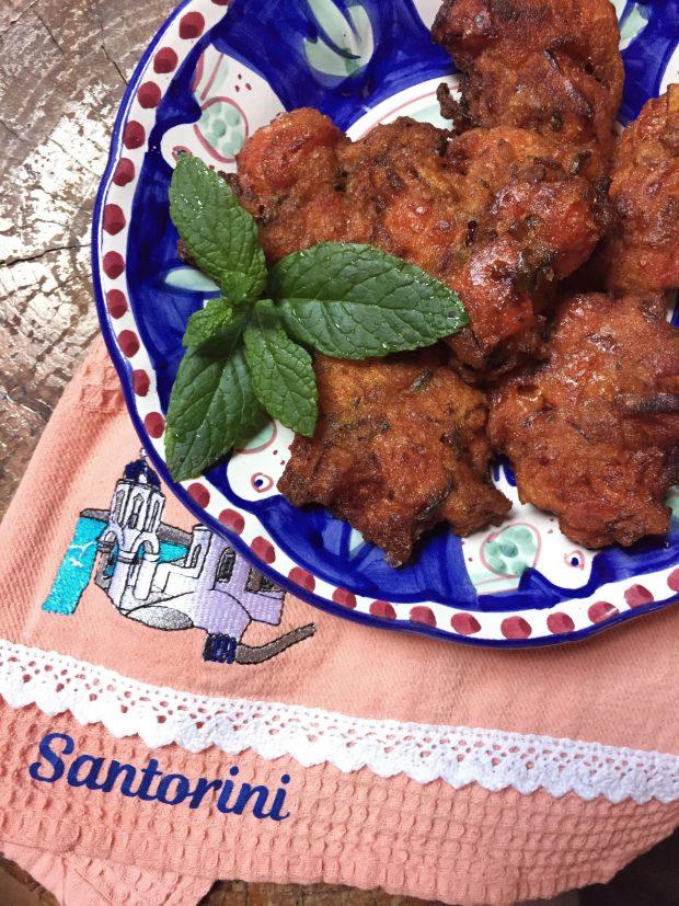 tomato fritters by Nicoletta @onequartergreek