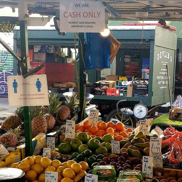 west London market Martin