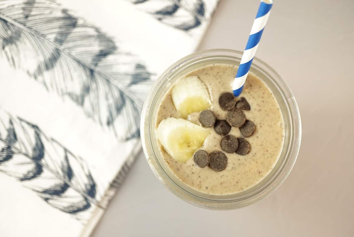 Healthy peanut butter cup shake eat your way clean ive been making these banana shakes for years and figured it is about time to share the recipe with you you can make this more like ice cream by adding ccuart Choice Image