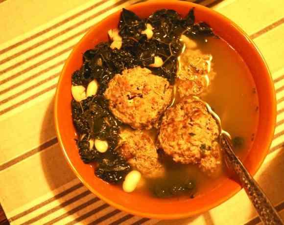 Bison Jicama Meatballs