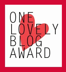 One Lovely Blog Award nomination!!
