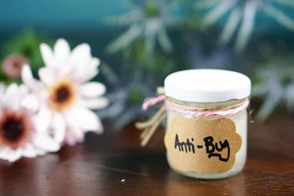 All Natural Bug Repellent - made with only coconut oil and essential oils