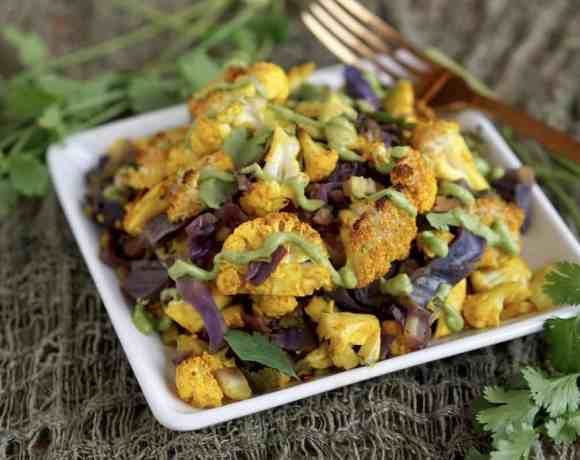 This easy and hearty AIP friendly Turmeric Cauliflower Bake Recipe is the perfect new staple for your paleo, grain free, and gluten free lifestyle.
