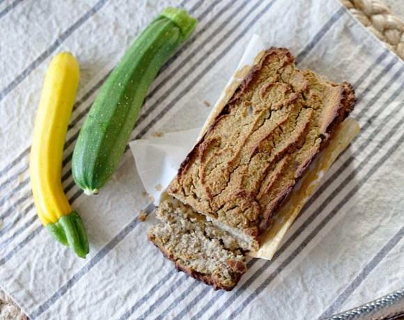 Mini Refined Sugar Free Zucchini Bread with Lemon (gluten free, paleo)