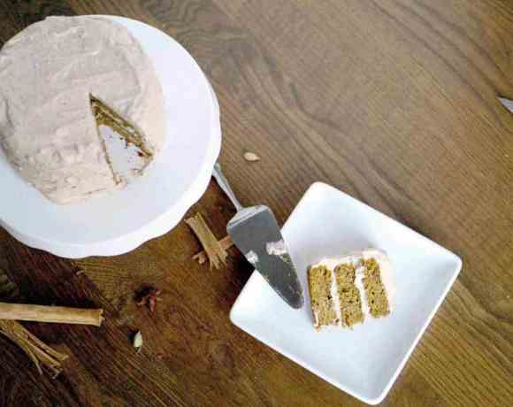 Fluffy Paleo Pumpkin Spice Cake