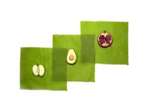 reusable beeswax food covers make a holiday gift for your favorite crunchy foodie