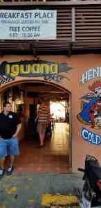 La Iguana - a San Juan del Sur Restaurant great for happy hour and sunsets