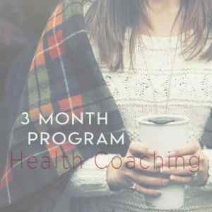 Health Coaching - 3 month program-100