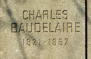Baudelaire nom gravé