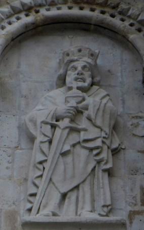 roi avec orbe