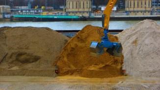 sables bord Seine
