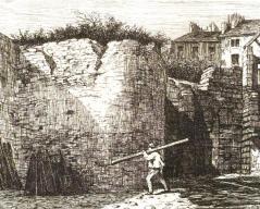 estampe-de-1848-pa-demolis-pour-percement-rues-de-cluny-et-soufflot