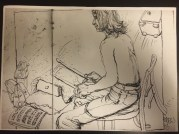 Anders Stenmo, gezeichnet von Marlies Breier (1979)