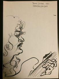 Thomas Spitzer, gezeichnet von Marlies Breier (1980)