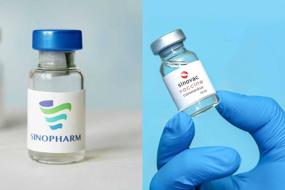 Chinia Vaccine Sinopharm and Sinovac