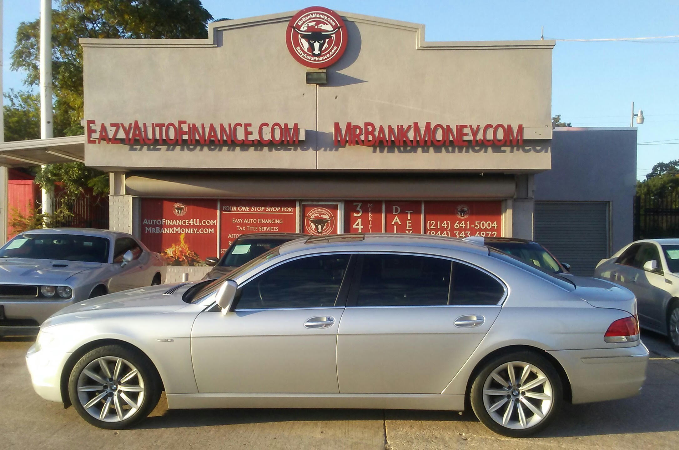 2008 BMW 750LI SOLD FOR 12500 CAH