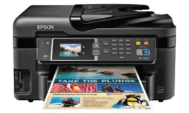 Photo of EPSON WORKFORCE WF-3620 PRINTER DRIVER