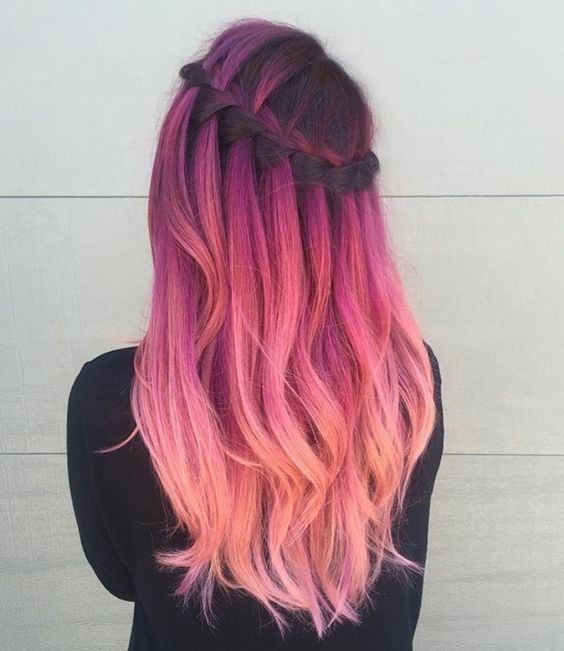36 ombre hair color