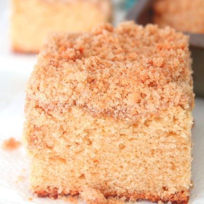 This crumb coffee cake is so delicious and easy to make