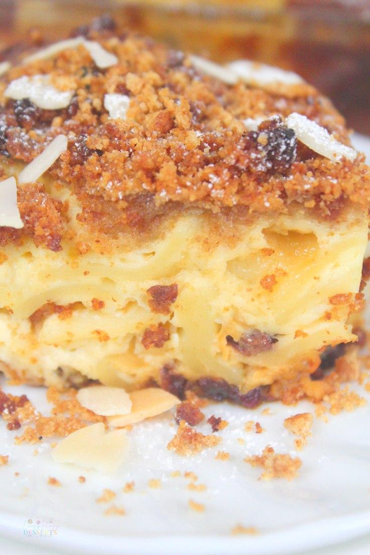 Sweet kugel recipe