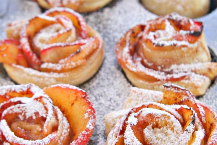 Apple roses recipe