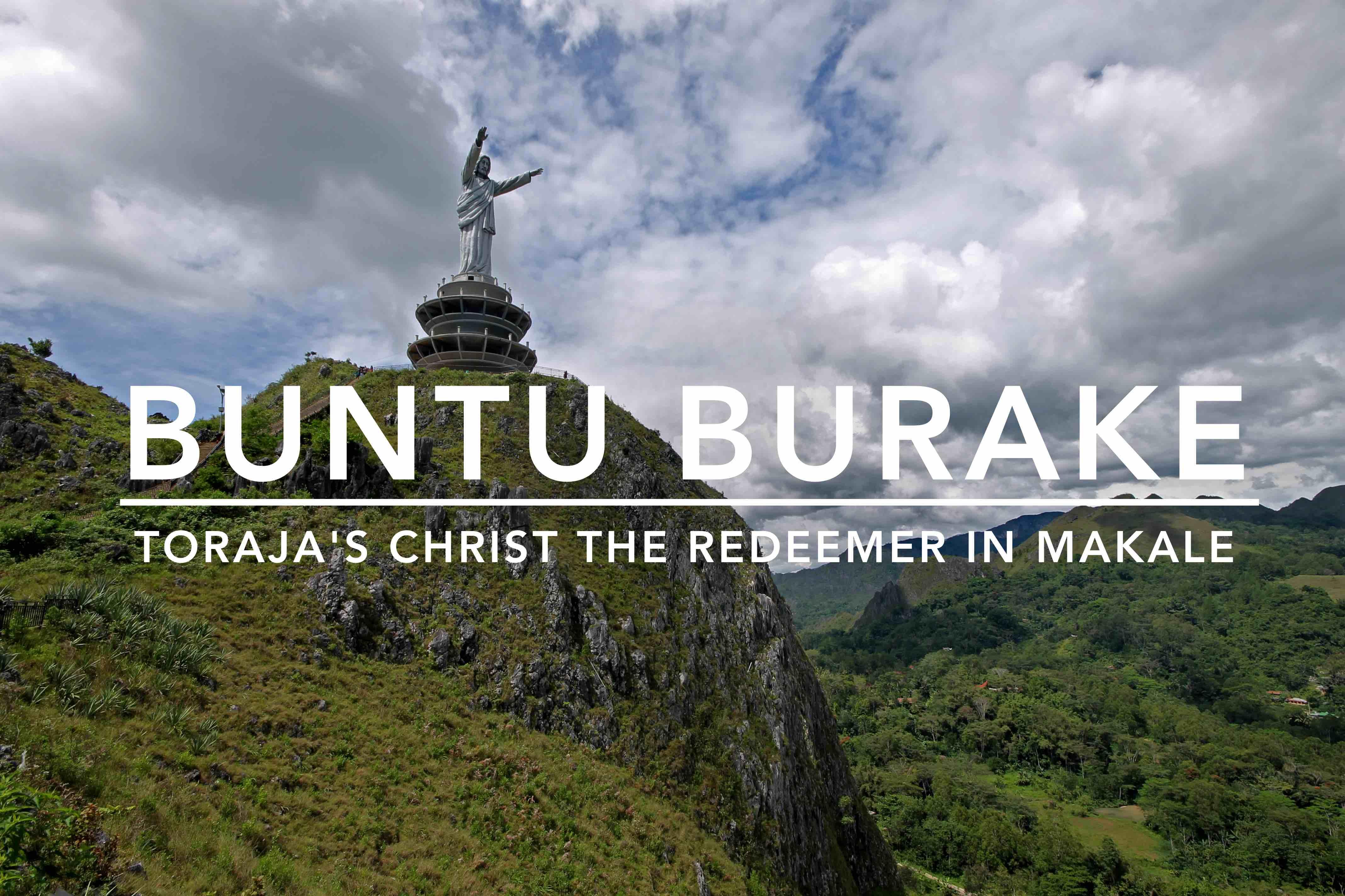 World S Tallest Jesus Christ Statue In Makale Tana Toraja South
