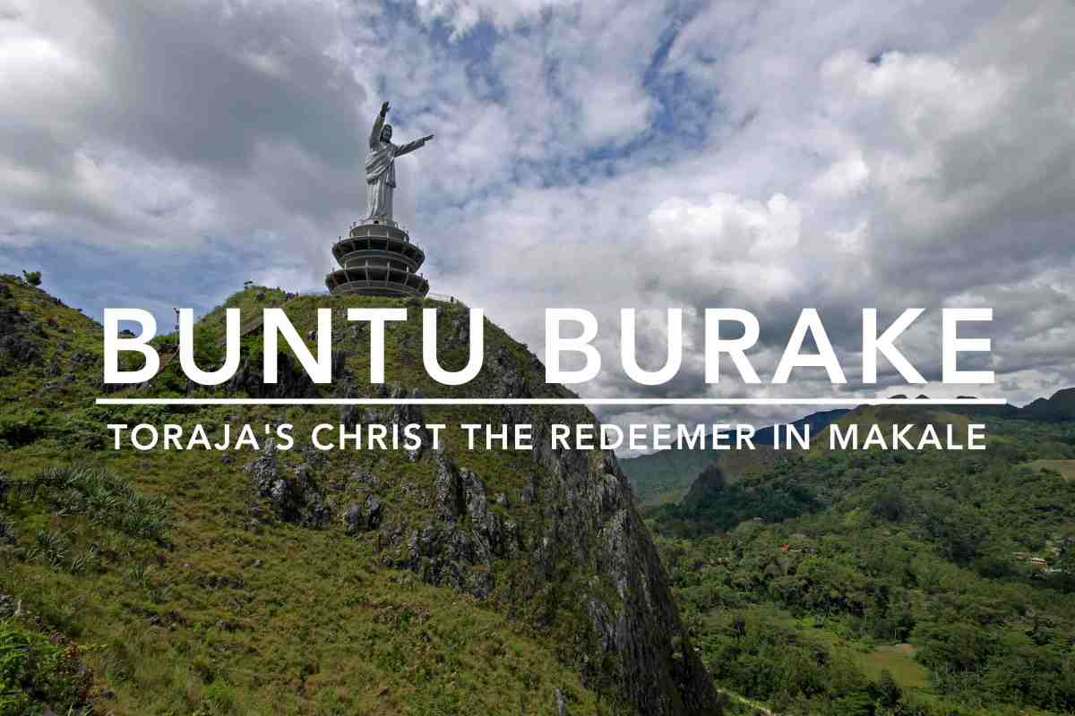 The World's Tallest Jesus Statue in Tana Toraja, South Sulawesi