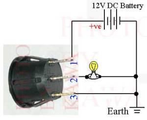 12X ROUND 12V GREEN LED ROCKER SWITCH TOGGLE CAR SPST | eBay