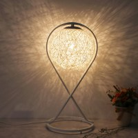 Warm White Modern Wood Table Lamp Decorative Table Lamp