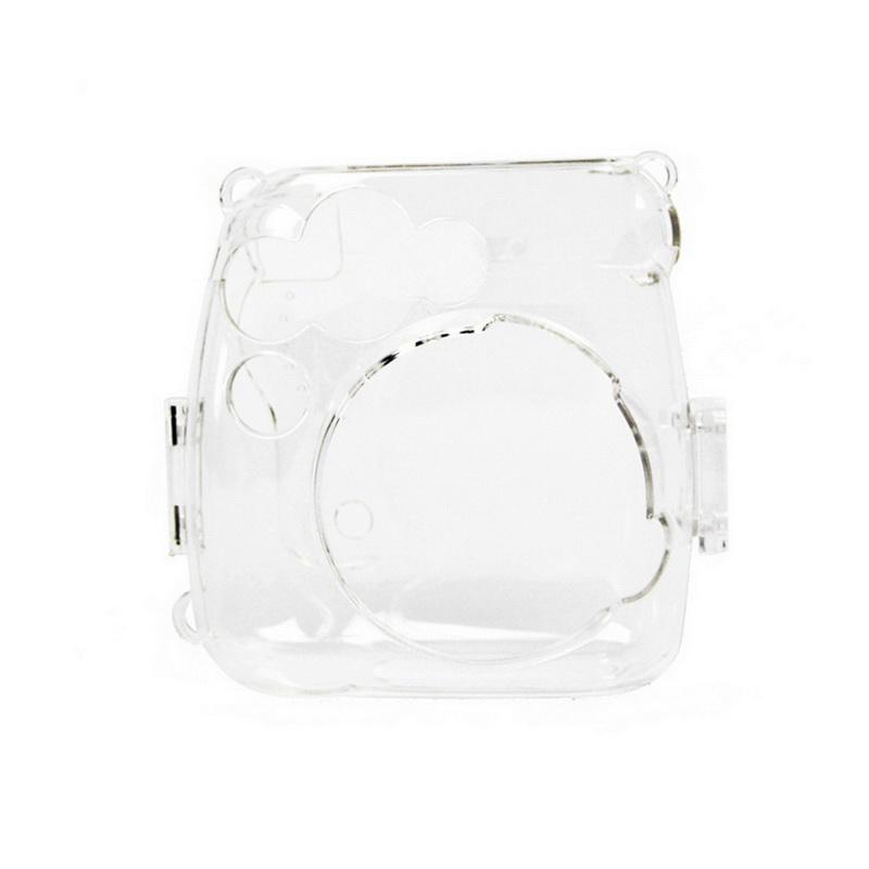Fujifilm Instax Mini 8 /8+/ Mini Camera Clear Case Bag