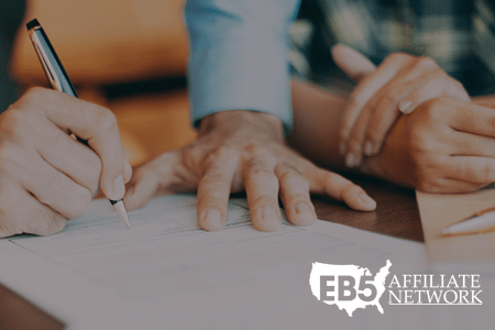 The free EB5 Affiliate Network Form I-829 Starting Guide and Template.