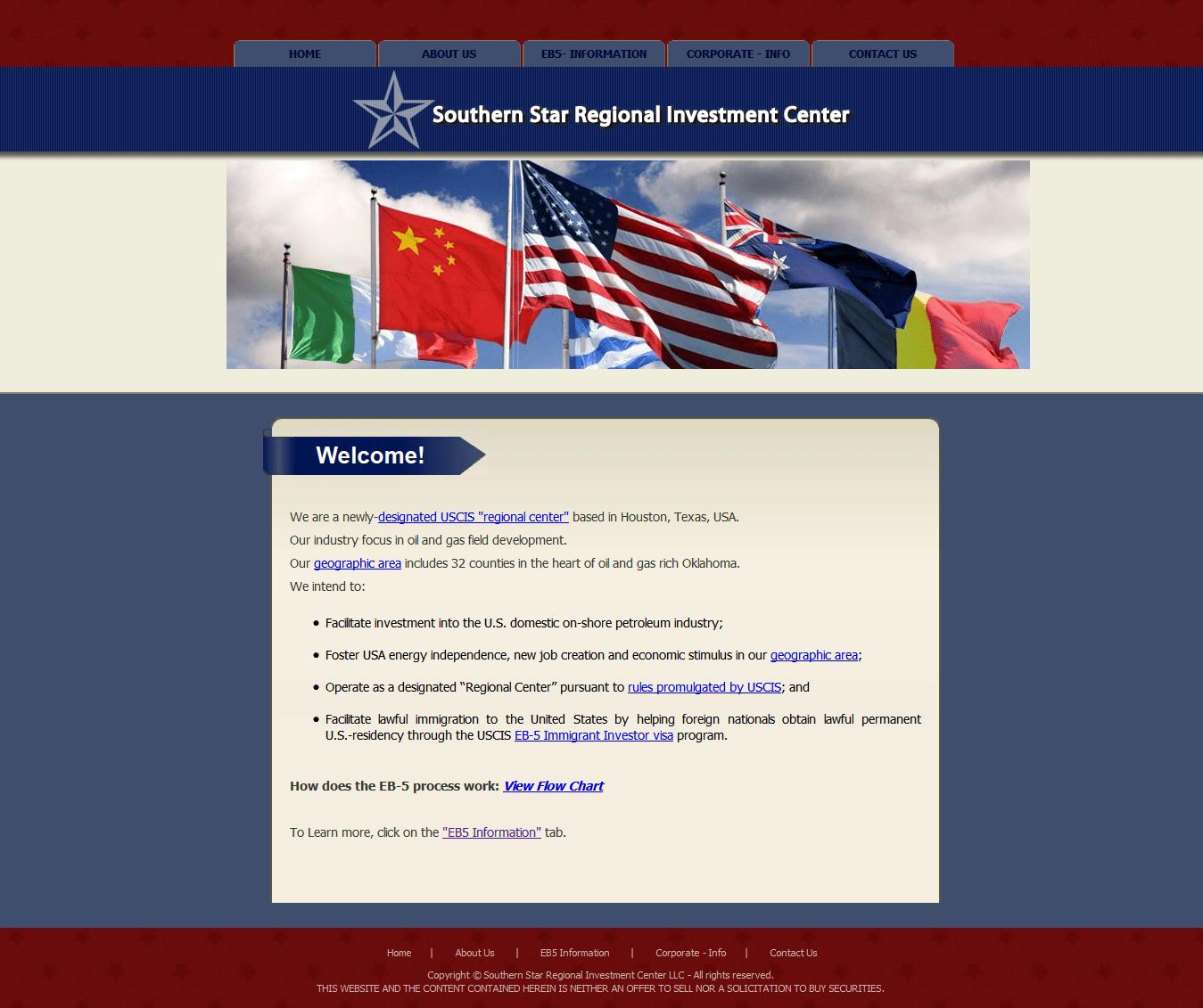 hight resolution of  southern star regional investment center screenshot