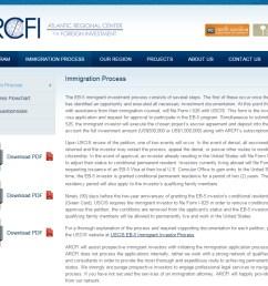 atlantic regional center for foreign investment arcfi screenshot  [ 980 x 813 Pixel ]
