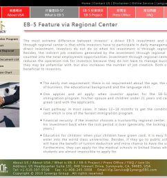 synergy california green hospitality regional center screenshot  [ 1349 x 793 Pixel ]