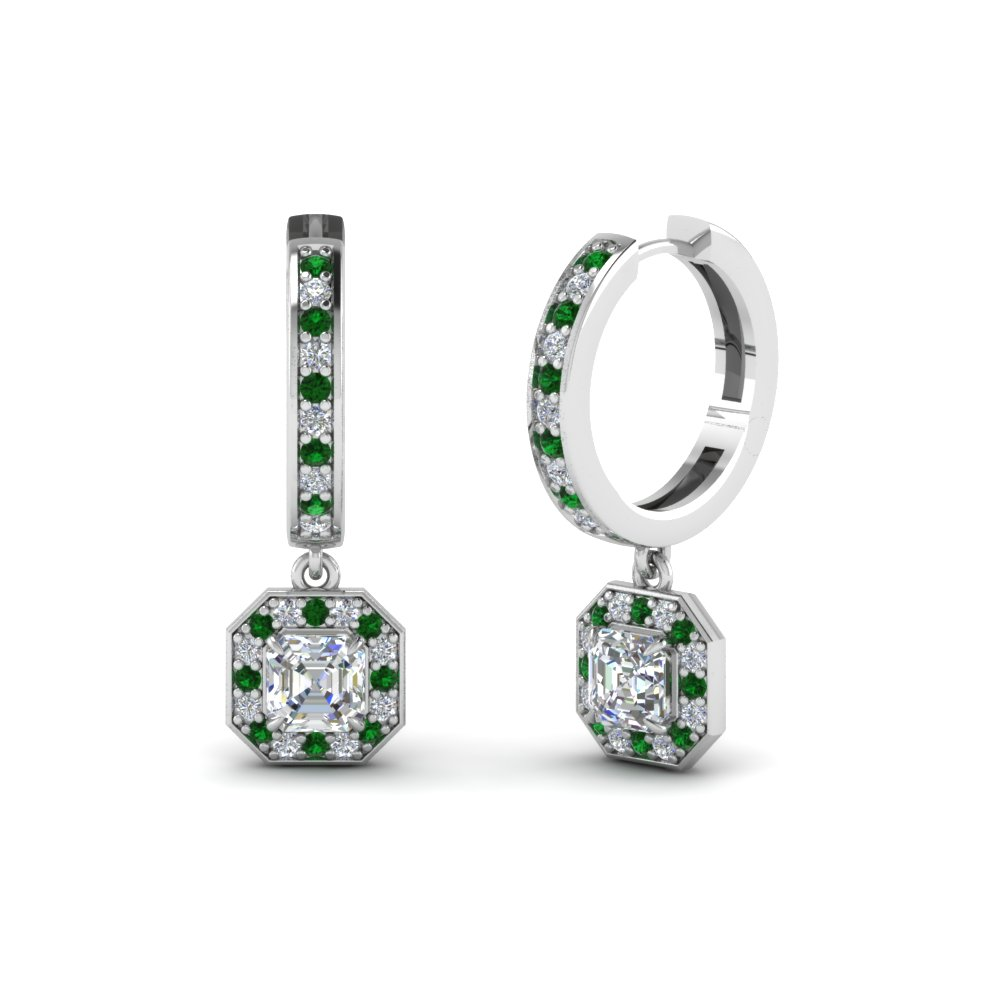 13 Most Stunning Emerald Earrings At Fascinating Diamonds