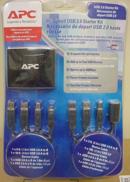 APC Hi-Speed USB 2.0 Starter Kit