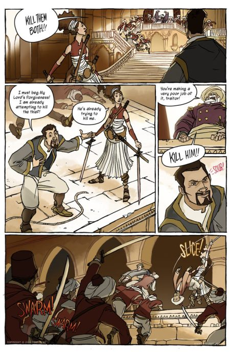 Delilah Dirk and the Turkish Lieutenant interior 1