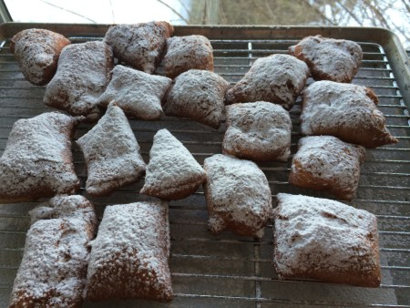 Finished Beignets
