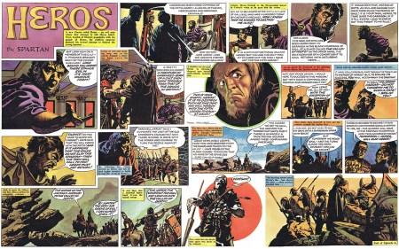 Heros The Spartan interior 1