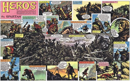 Heros The Spartan interior 2