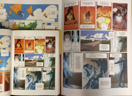 Incal Coffee Table Edition page comparison