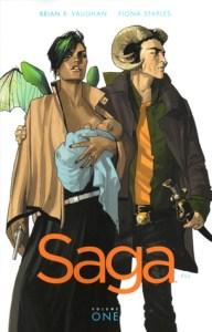 Saga Volume 1 cover