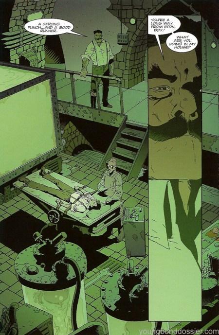 Silverfin The Graphic Novel interior 4