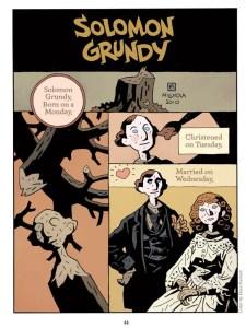 Solomon Grundy Page 1